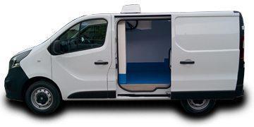 Vauxhall Vivaro Fridge Van