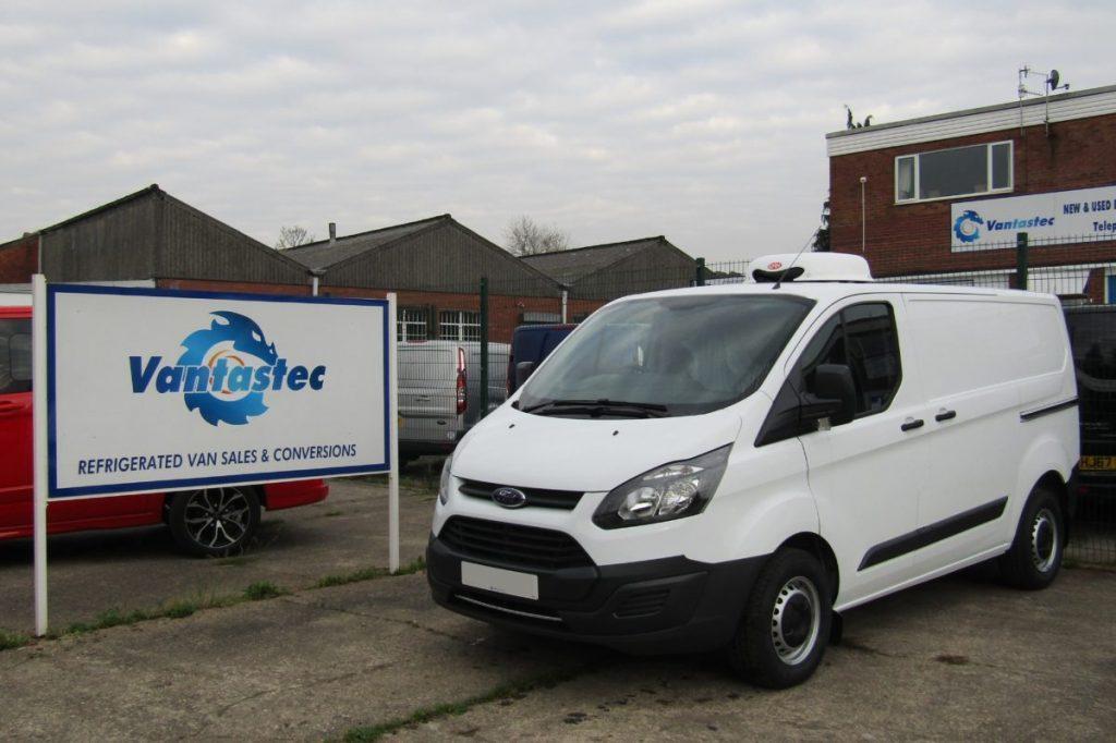 Ford Custom Fridge Van for fridge van contract hire