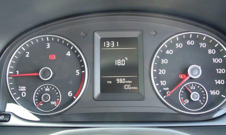 VW Caddy Fridge Van