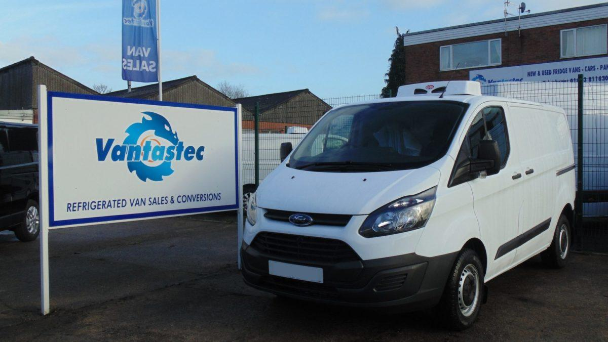 Ford Custom Refrigerated Van with Overnight Standby