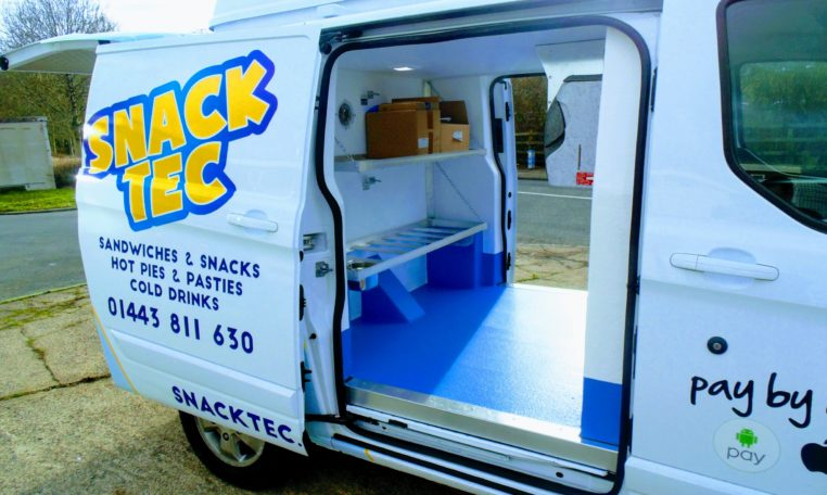 Ford Transit Custom Catering Van