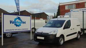 citroen berlingo fridge van