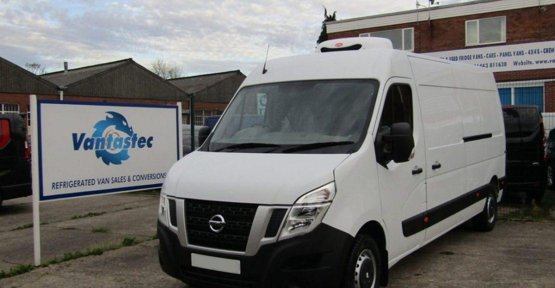 NISSAN NV400 REFRIGERATED VAN