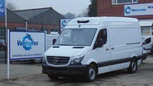 mercedes sprinter frozen van