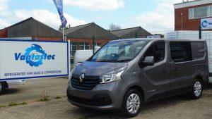 Renault Trafic L2 Crew Van | Vantastec