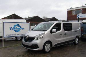 Renault Trafic Crew Van for Rent | Vantastec