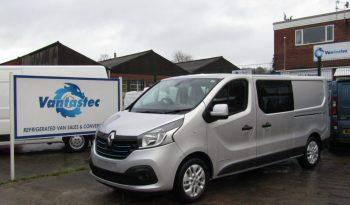 Renault Trafic Crew Van for Rent | Vantastec