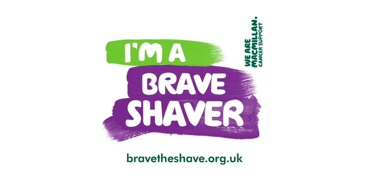 Brave The Shave Logo