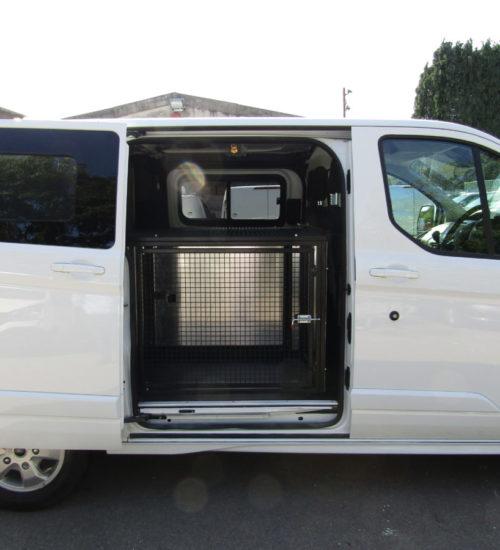 Side View of Dog Van, Door Open | Vantastec