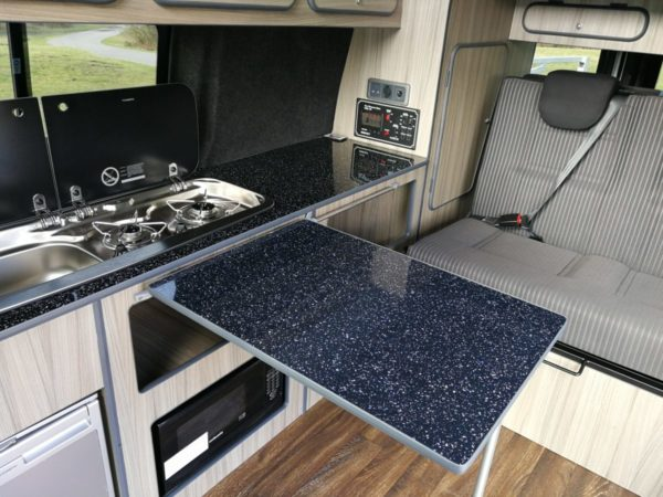Camper van conversion interior | Vantastec