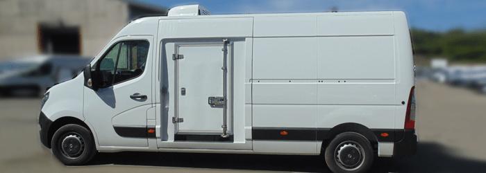 Freezer Van Conversion