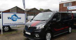 Renault Trafic 1.6dCi SL27 125 Sport PLUS Crew Van – Black