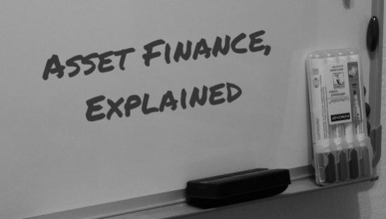 asset finance explained whiteboard