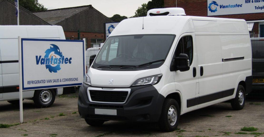 Peugeot Boxer Fridge Van