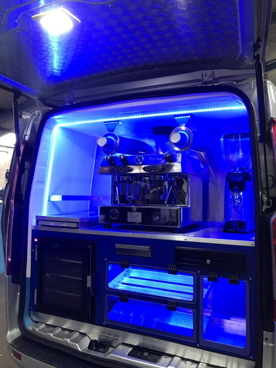 Coffee Blue Van