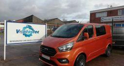 FORD CUSTOM L1H1 2.0TDCI 130PS LIMITED CREW TEC+