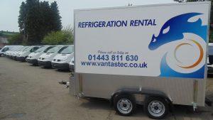 Vantastec Refrigerated Trailer for Rent