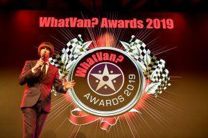 Tom Ward at the What Van? Awards 2019