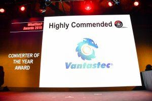 Vantastec Highly Commended in the Converter of the Year Award