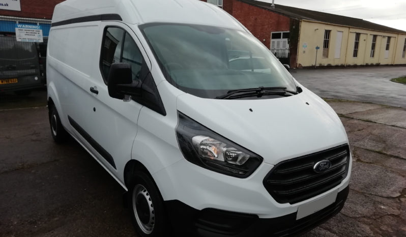 Ford Transit Custom L2H2 Fridge Van Lease full