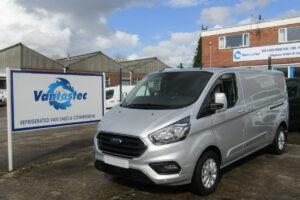 L2H1 Ford Transit Custom silver panel van from Vantastec