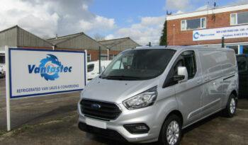 L2H1 Ford Transit Custom silver panel van from Vantastec