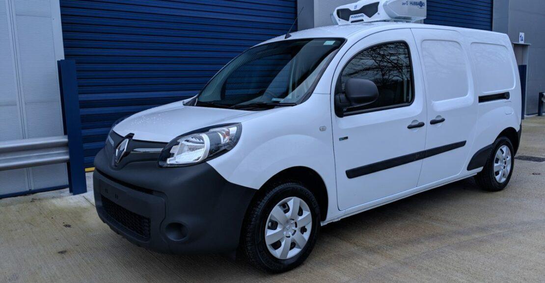 Electric Renault Kangoo ZE Fridge Van