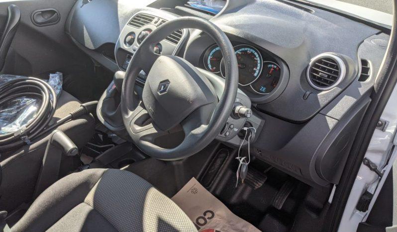 Renault Kangoo ZE Electric Fridge Van full