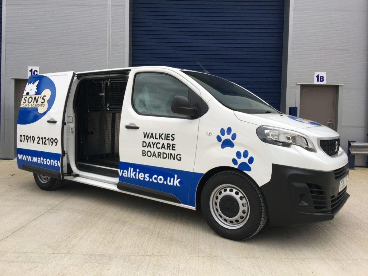 Watson Walkies Dog Van