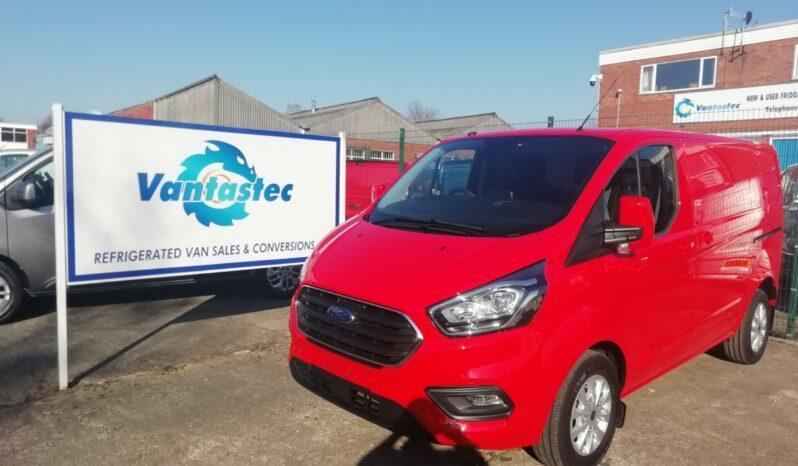 Red Ford Transit Custom Panel Van from Vantastec