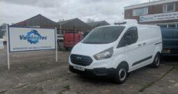 L1H1 Ford Transit Custom with Twin Side Loading Doors and Tailgate