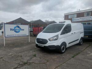 Used Ford Transit Custom Fridge Van from Vantastec