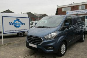 L2H1 Blue Ford Transit Custom Panel Van from Vantastec