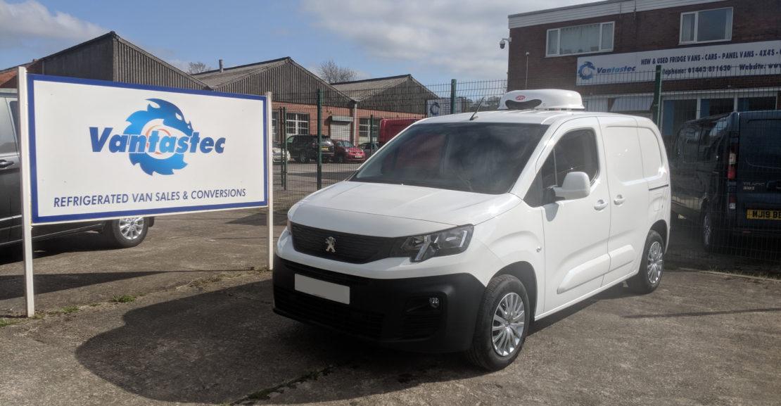 Peugeot Partner Fridge Van as converted by Vantastec