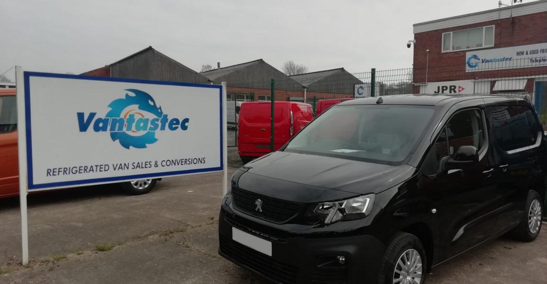 Peugeot Partner panel van as converted by Vantastec