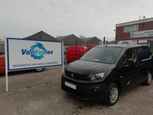 Peugeot Partner panel van as converted by Vantastec