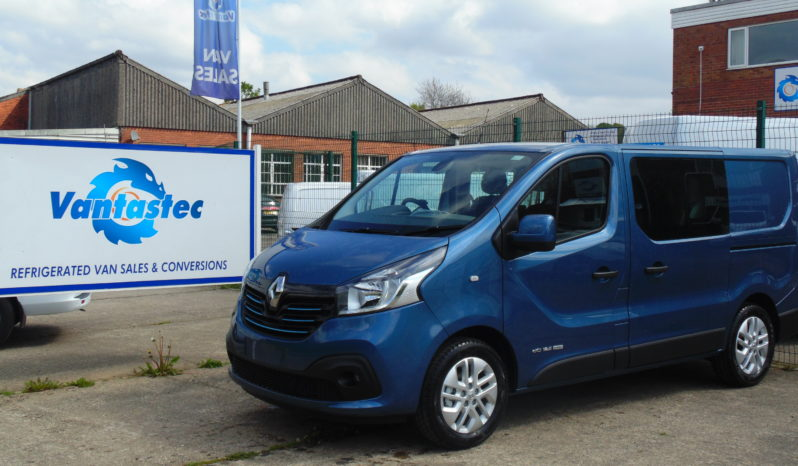 SL27 Blue Renault Trafic crew van as converted by Vantastec
