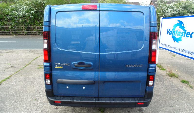 Blue Renault Trafic SL27 125PS Sport with Reversing Camera full