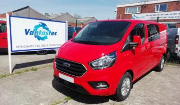 L2H1 Ford Transit Custom Crew Van in red as converted by Vantastec