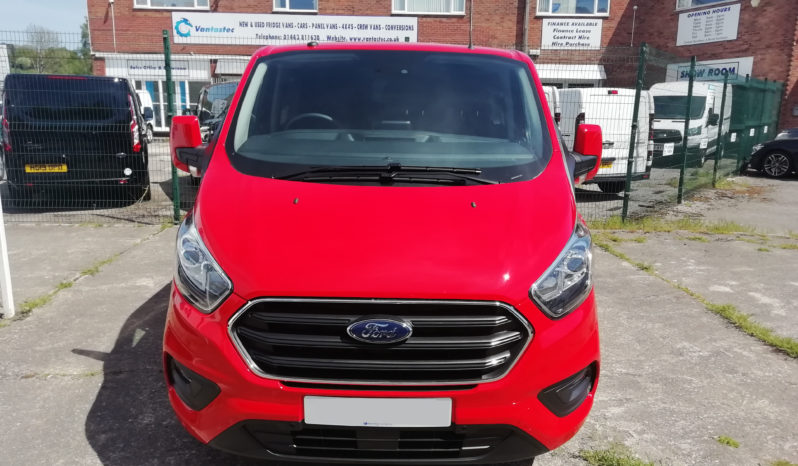 Red Ford Custom 320 L2H1 20.TDCI 130PS Limited Crew Van full