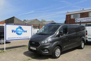Metallic Grey Ford Transit Custom Panel Van as converted by Vantastec