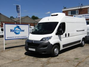 Citroen Relay fridge van as converted by Vantastec