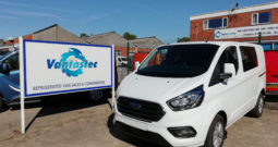 Ford Transit Custom Crew Van with Dog Cages