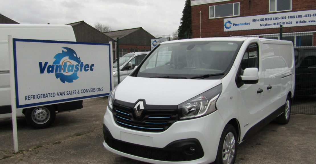 Renault Trafic LL29 Panel Van as converted by Vantastec