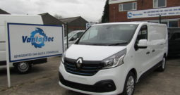 Renault Trafic Panel Van with Dog Cage