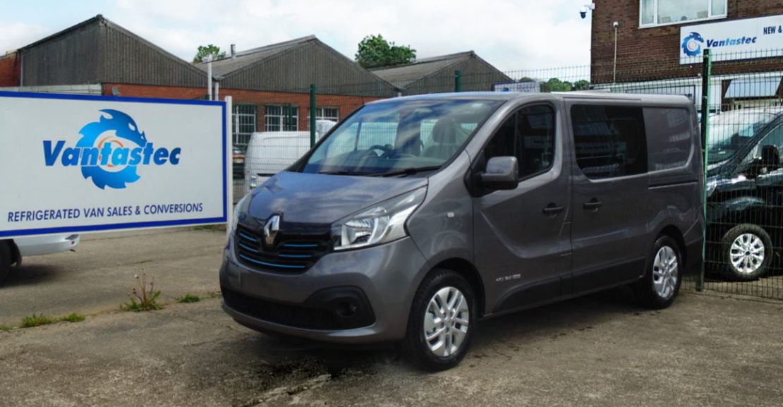 SL27 Oyster Grey Renault Trafic as converted by Vantastec