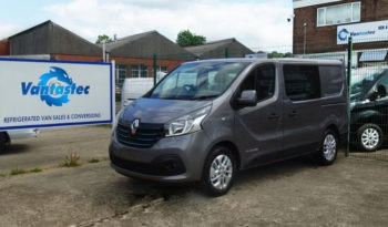 Oyster Grey Renault Trafic SL27 125PS Sport with Reversing Camera