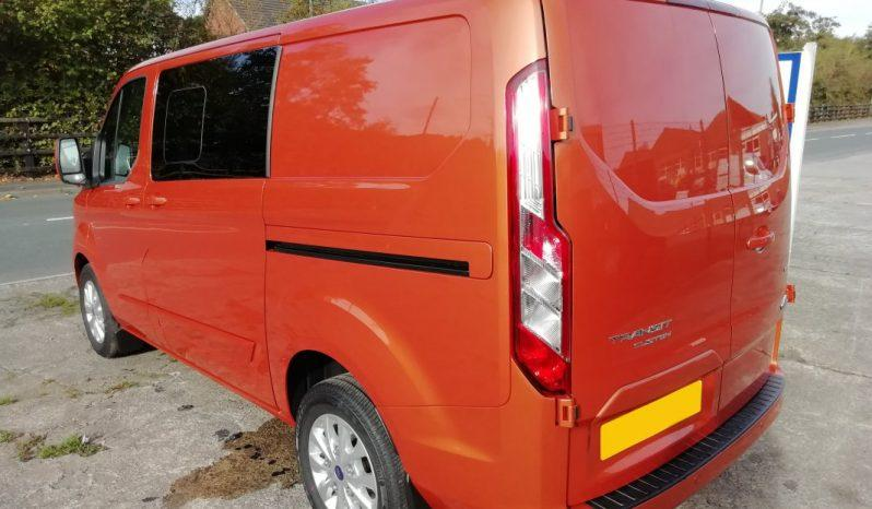 Ford Transit Custom L1H1 300 130PS Limited Crew Cab Van With Rear Camera full
