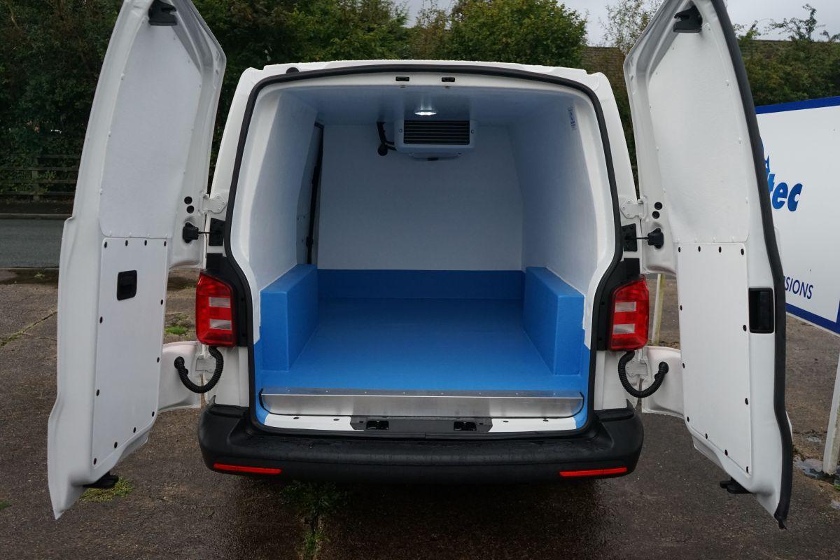 VW Transporter fridge van