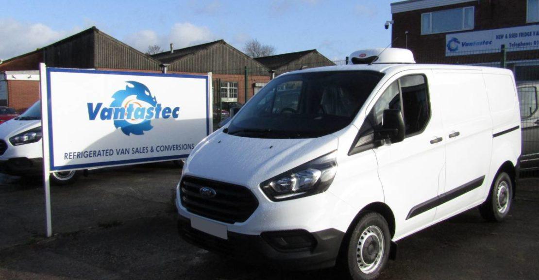 Ford Transit Custom Fridge Van